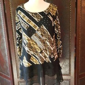 Style & Co Embellished Tunic  1X